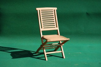 Teak Hanton Folding Chair