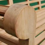 Teak Lutyens Bench 3