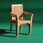 Teak Stacking Chair