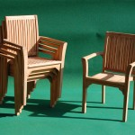 Teak Oval Extending Table