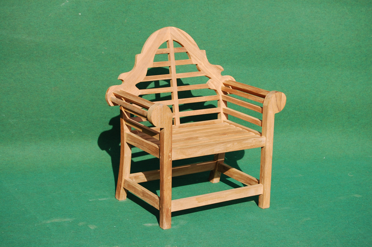 teak lutyens chair garden teak