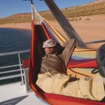 barbados rainbow hammock boat
