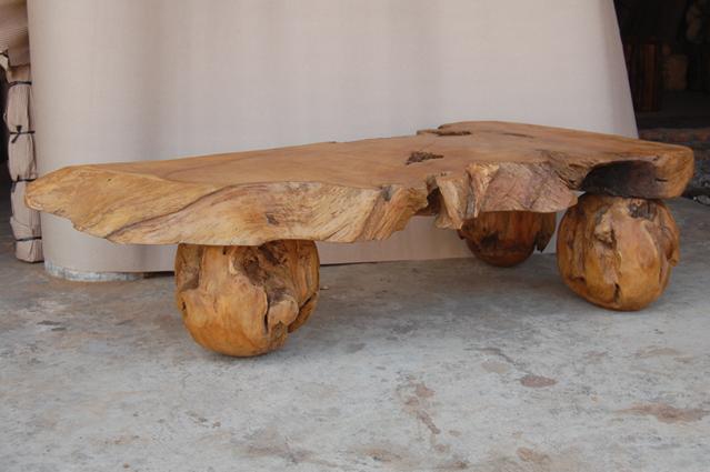 78e37de5704a7 Teak Root Ball Foot Coffee Table - Garden Teak